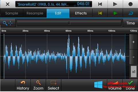 Skärmdump NanoStudio för Windows 8