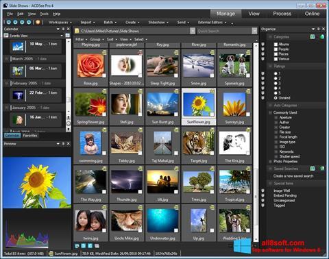 Skärmdump ACDSee för Windows 8