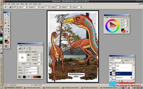 Skärmdump Artweaver för Windows 8