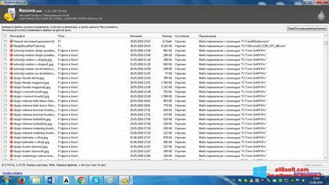 Skärmdump Recuva för Windows 8