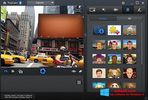Skärmdump CyberLink YouCam för Windows 8