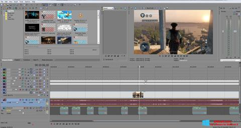 Skärmdump Sony Vegas Pro för Windows 8