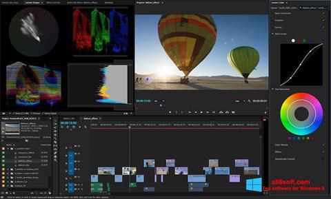 Skärmdump Adobe Premiere Pro för Windows 8