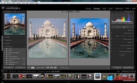 Skärmdump Adobe Photoshop Lightroom för Windows 8