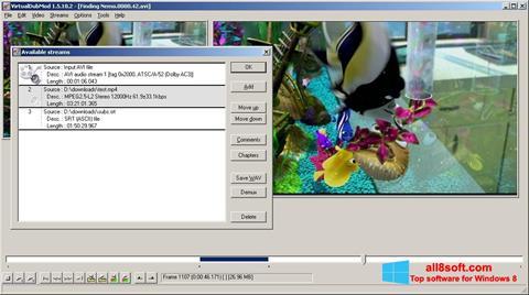 Skärmdump VirtualDubMod för Windows 8