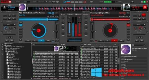 Skärmdump Virtual DJ för Windows 8