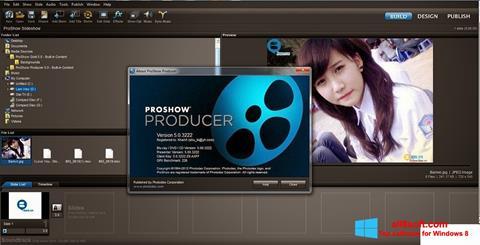 Skärmdump ProShow Producer för Windows 8