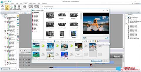 Skärmdump VSDC Free Video Editor för Windows 8