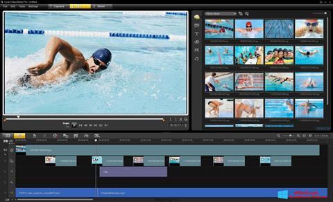 Skärmdump Corel VideoStudio för Windows 8