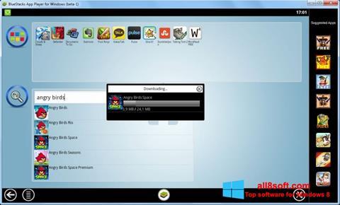 Skärmdump BlueStacks för Windows 8