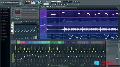 Skärmdump FL Studio för Windows 8