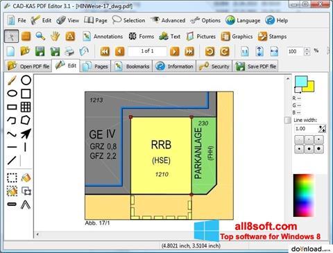 Skärmdump PDF Reader för Windows 8