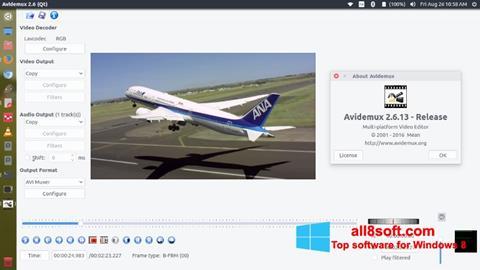 Skärmdump Avidemux för Windows 8